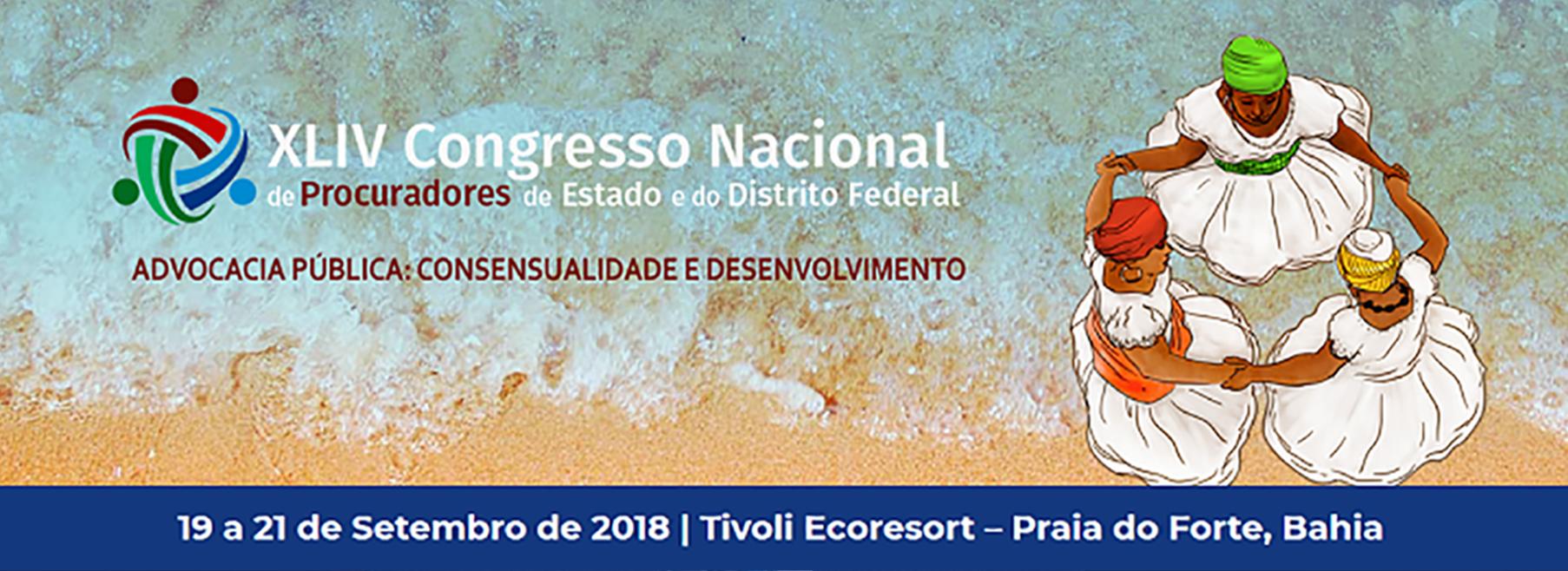 Membros participam de congresso nacional na Bahia