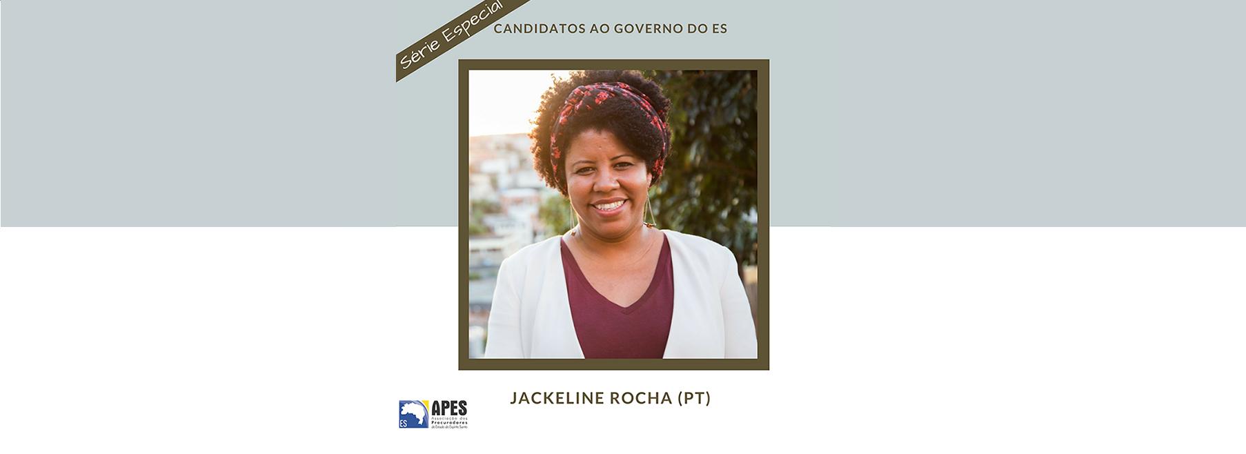 "Série ""Candidatos ao Governo do ES"" entrevista Jackeline Rocha"